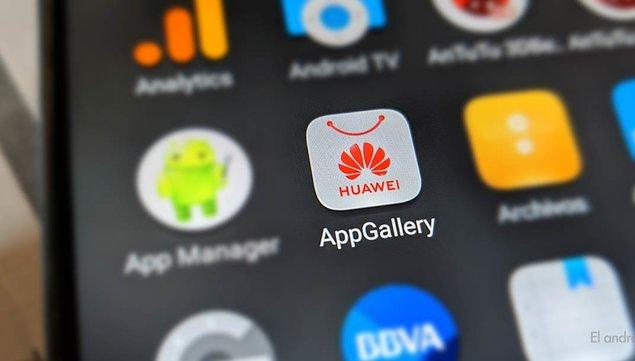 """imagen de Huawei crece con su """"ecosistema"""" y la tienda App Gallery"""