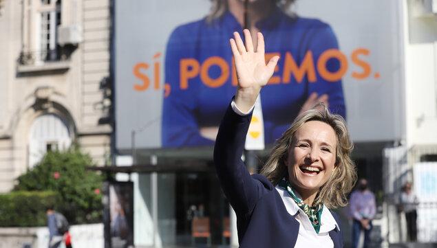 """imagen de Raffo ve una """"ventana de oportunidad"""" para ganar Montevideo gracias a gestión del gobierno nacional y sus altos porcentajes de aprobación"""