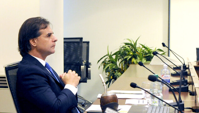 imagen de Lacalle Pou hablará el lunes 31 con Merkel sobre el avance del acuerdo entre la Unión Europea y el Mercosur