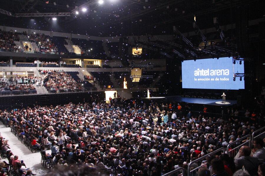 imagen de El Antel Arena perdió casi US$ 2 millones desde que abrió y las autoridades estiman que resta pagar la mitad de su construcción