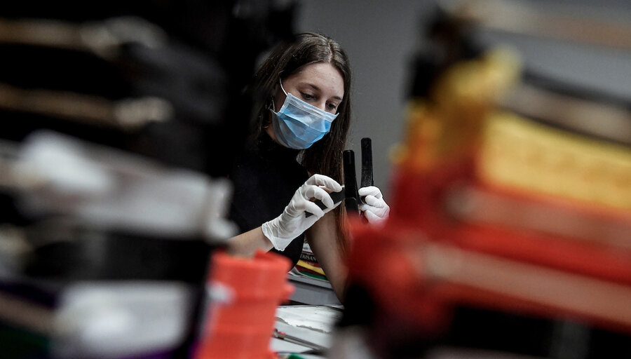 """imagen de Con la pandemia de Covid-19 """"las empresas han tenido que aplicar en forma vertiginosa un ajuste en sus prioridades"""""""