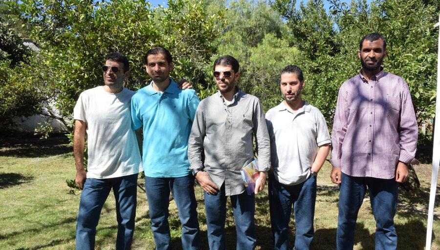 imagen de A seis años de su llegada a Uruguay, la mayoría de los refugiados de Siria y Guantánamo estudian o trabajan