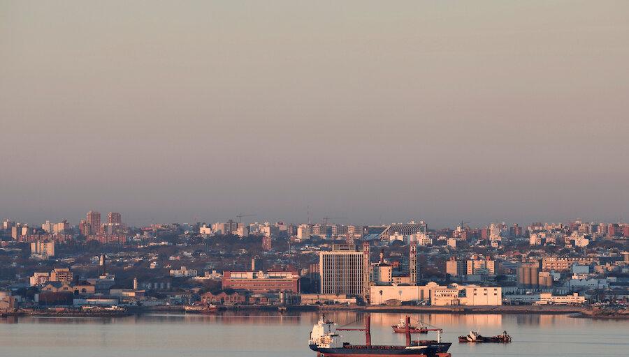 imagen de EE.UU. transmitió preocupación por posible puerto chino en Uruguay
