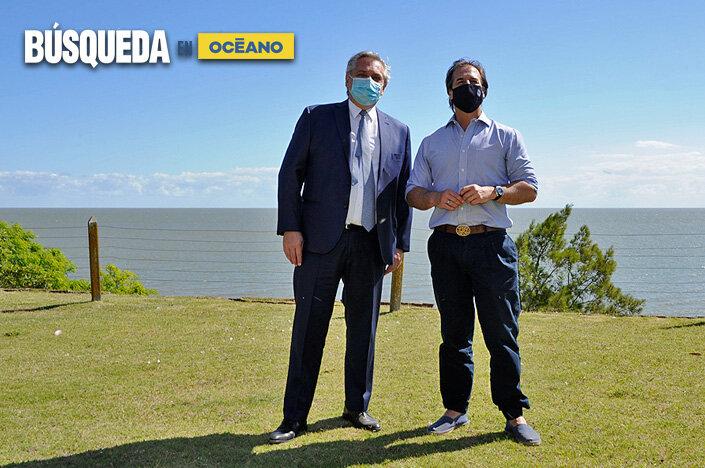 imagen de Alberto Fernández viajó a Uruguay para reunirse con Luis Lacalle Pou