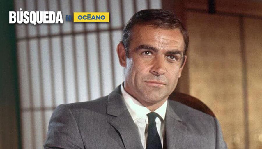 imagen de Sean Connery, un actor estrella y el mejor James Bond