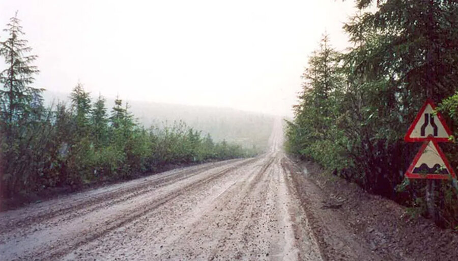 La ruta de los muertos