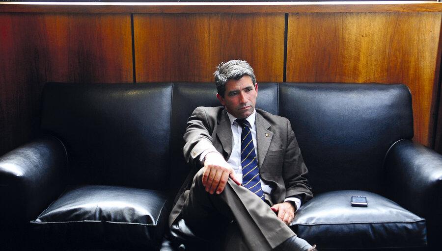 imagen de Sendic trasmitió que no apelará su condena