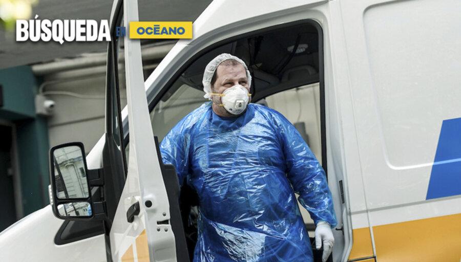 imagen de Nuevo récord de contagios por coronavirus en Uruguay; estiman que las vacunas llegarán el próximo invierno