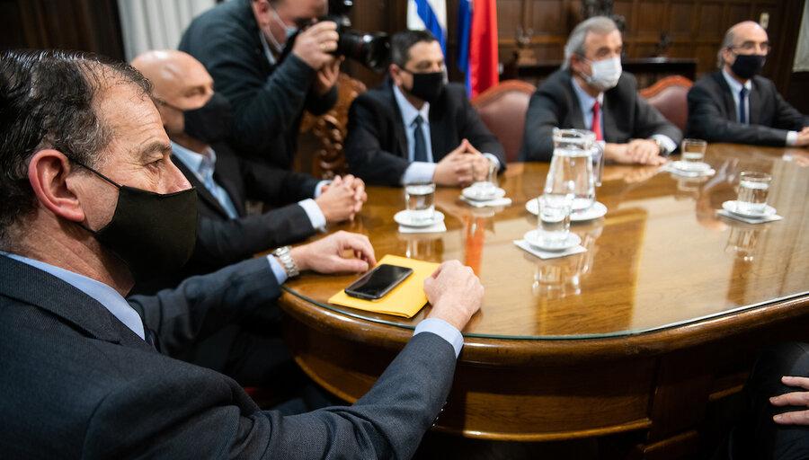 """Manini Ríos insiste en sus """"muchas diferencias"""" con la conducción de Larrañaga al frente del Ministerio del Interior"""