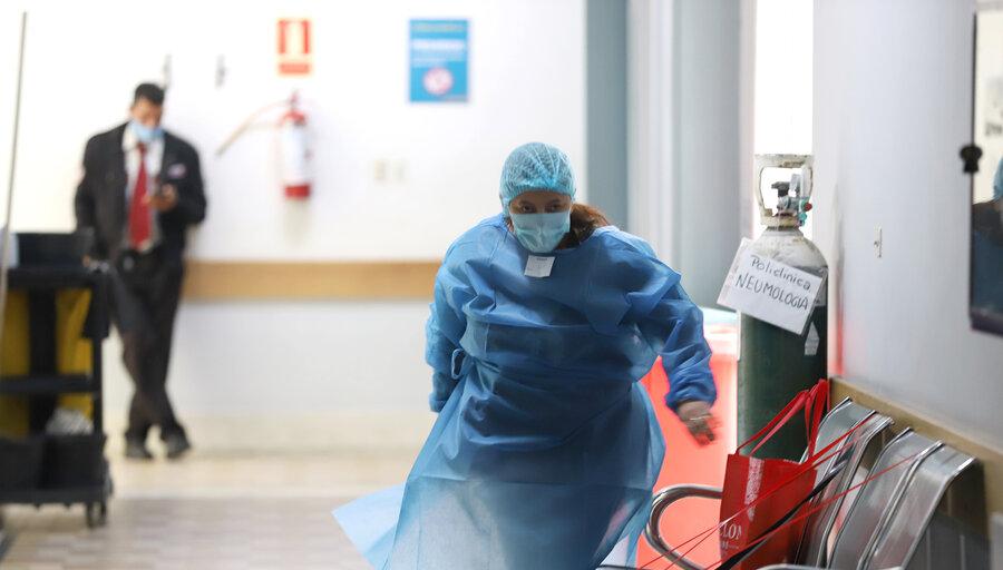 """imagen de Tras casi retomar la """"normalidad"""", el Hospital Español vuelve a tomar protagonismo en el mes """"más difícil"""" de la pandemia"""