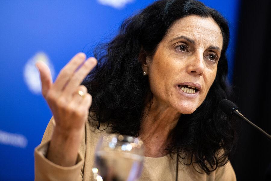 imagen de Florencia Arbeleche dirigirá la dirección encargada del tema asentamientos