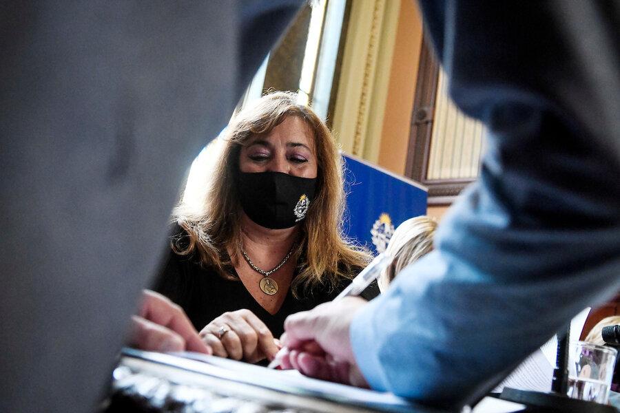 """imagen de Irene Moreira: """"Soy yo quien le pide la renuncia"""" a García Pintos porque """"no daba para más"""""""