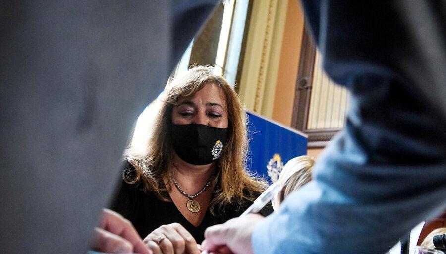 """Irene Moreira: """"Soy yo quien le pide la renuncia"""" a García Pintos porque """"no daba para más"""""""