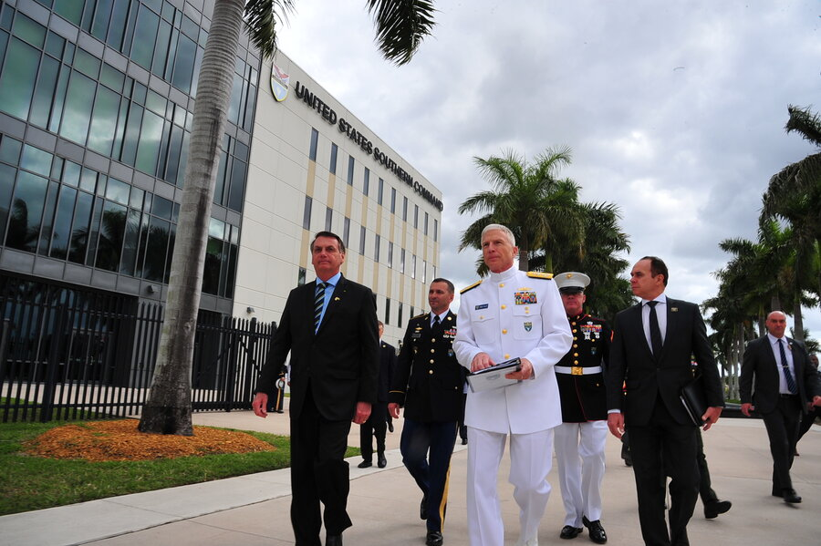 imagen de El máximo jefe militar estadounidense en la región visita Uruguay para afianzar la relación en defensa y seguridad con el gobierno