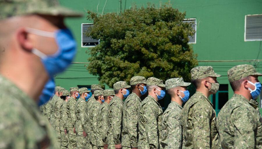 imagen de Las Naciones Unidas advierte a Uruguay sobre la necesidad de vacunar a todos los soldados que participen de las misiones de paz