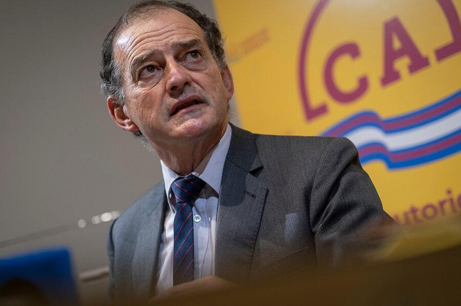 """imagen de Manini defendió la idea de que la Corte Electoral controle la """"imparcialidad"""" de la información política en los medios de comunicación audiovisuales"""