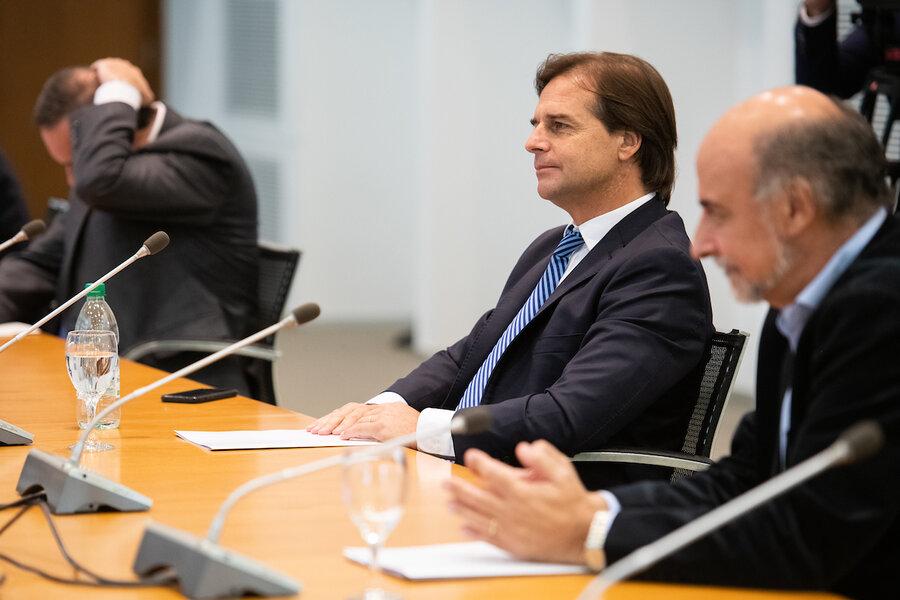 imagen de Lacalle Pou no prevé instalar un ámbito permanente con líderes de la coalición