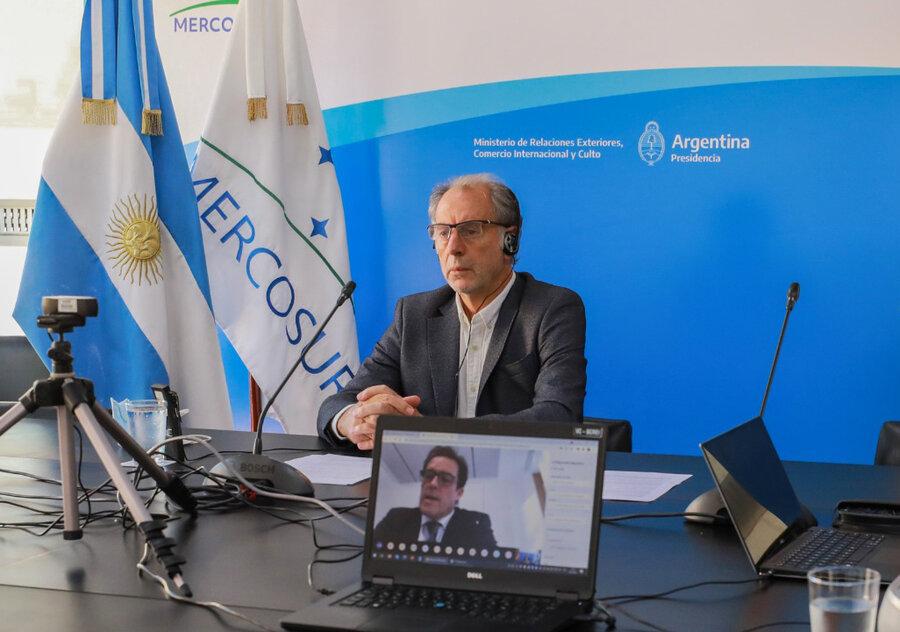 """imagen de La propuesta de flexibilización de Uruguay """"destruye el Mercosur"""""""