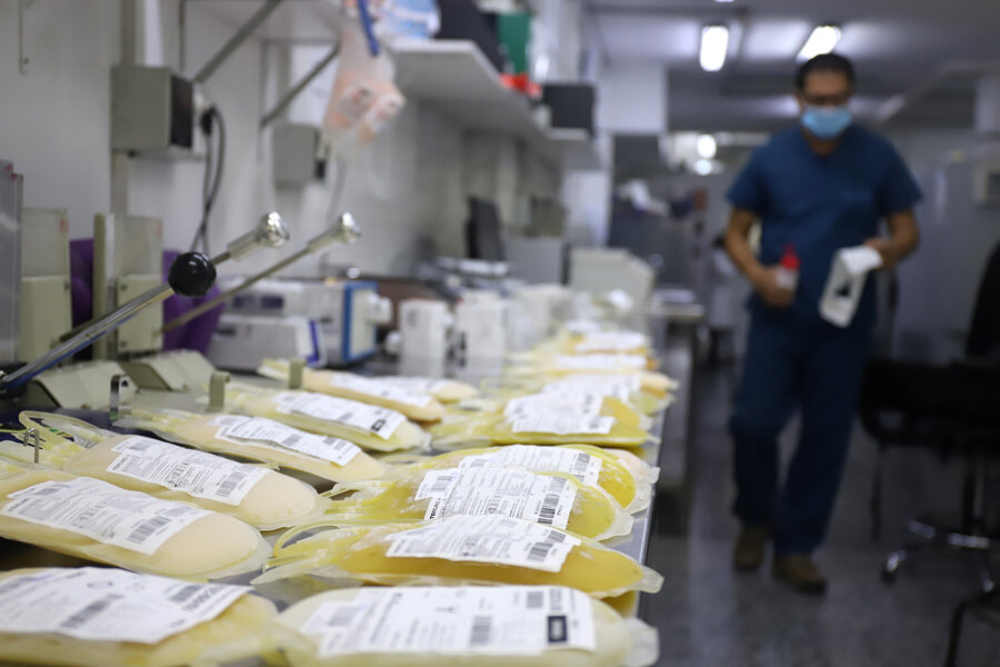 imagen de Pese a falta de evidencia, gobierno mantiene apuesta a tratamiento con plasma y estudia incluir a personas vacunadas como donantes
