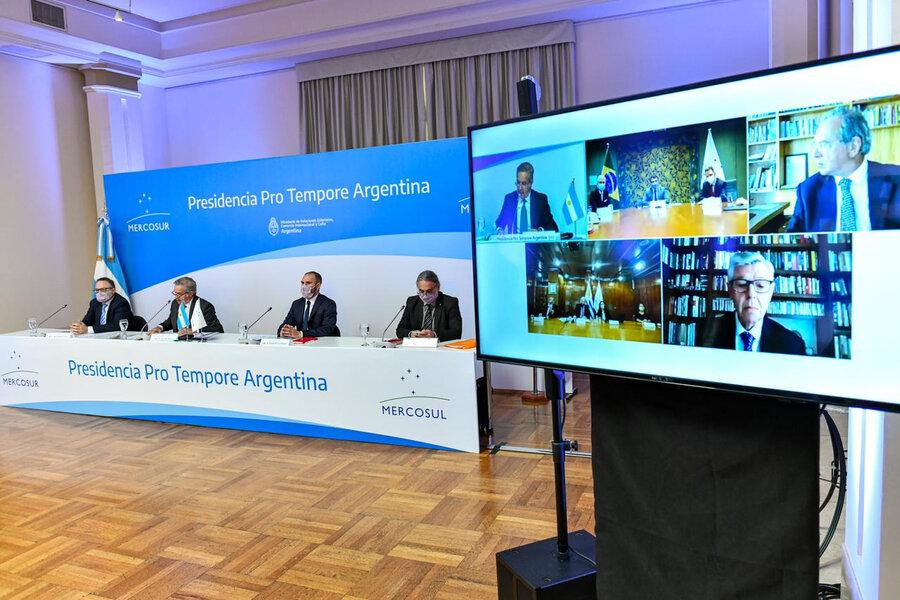 imagen de Paraguay y Argentina discrepan en la propuesta de flexibilizar el Mercosur y piden separar la discusión sobre aranceles