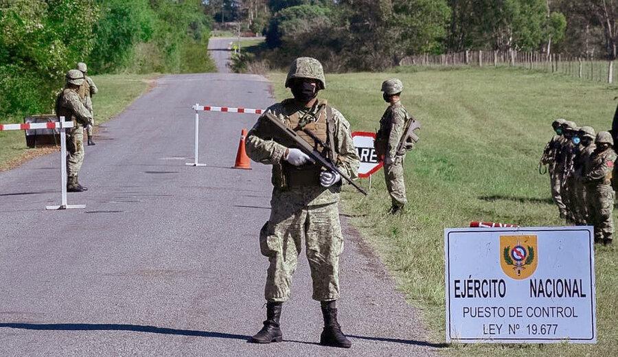imagen de El Ejército advierte que el patrullaje fronterizo se verá afectado por el desgaste de los soldados y el trabajo militar en la pandemia