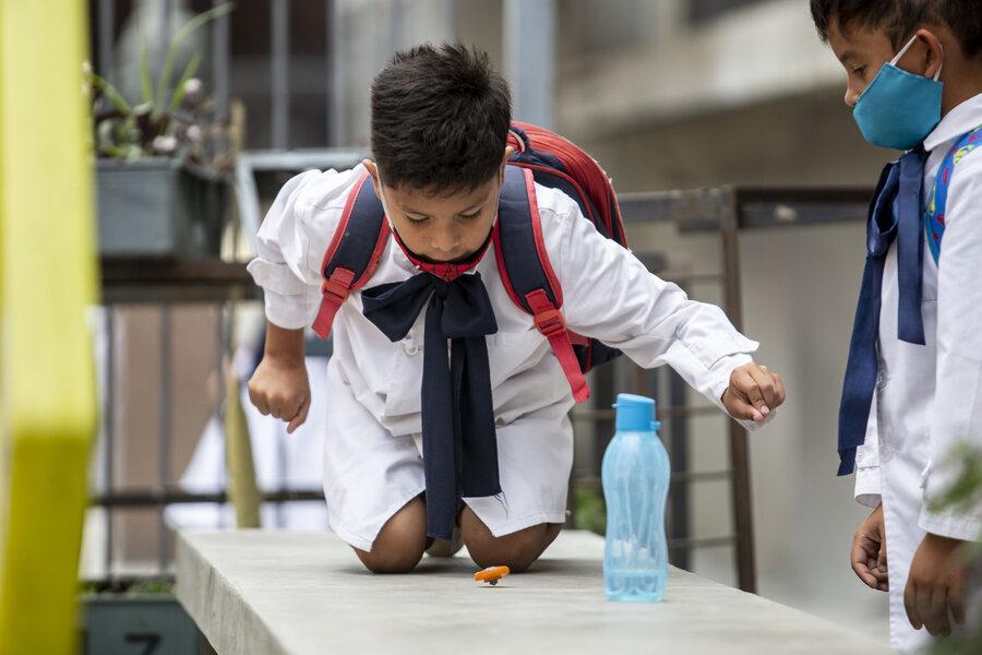 """imagen de Si se mantiene una """"meseta"""" de casos de contagios, el gobierno proyecta la presencialidad plena de clases para fines de junio"""
