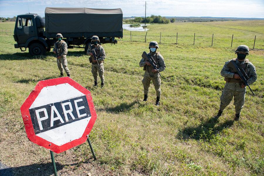 imagen de La nueva Ley Orgánica Militar que prepara el gobierno solo permite ingresar a las Fuerzas Armadas a los ciudadanos naturales