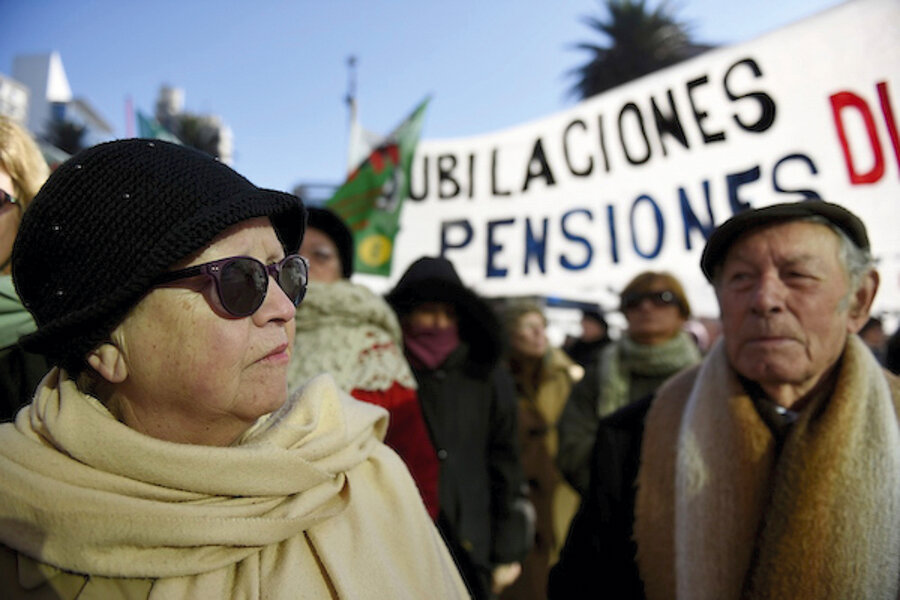 """imagen de Comisión apuesta a transición """"gradual"""" entre sistemas jubilatorios para """"evitar"""" problemas de la reforma de 1995"""
