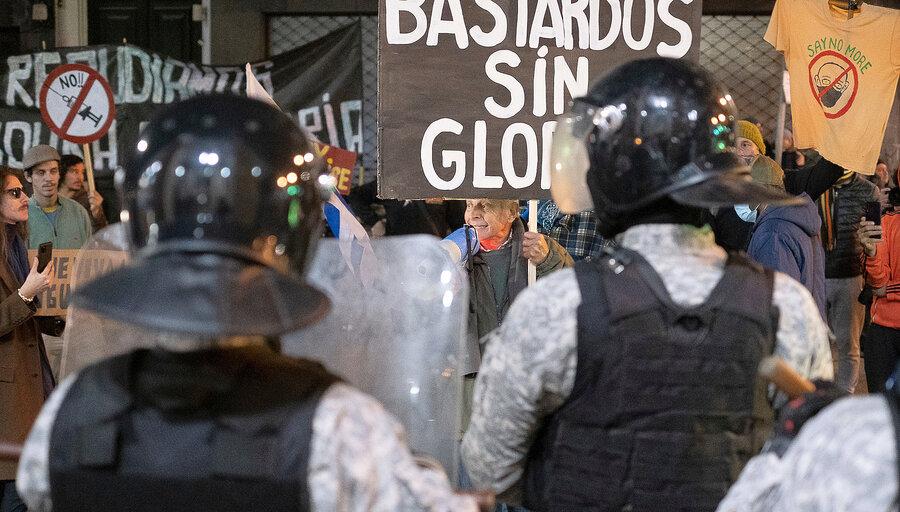 """imagen de Mientras Salle busca liderar el movimiento """"antiplandemia"""", la Policía da """"más atención"""" a posibles agresiones a figuras públicas"""
