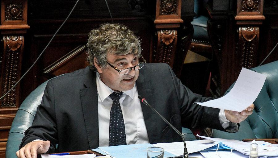 """imagen de Botana pide información a Mieres sobre subsidios por pandemia y cuestiona """"mentalidad corporativa"""" en el reparto"""