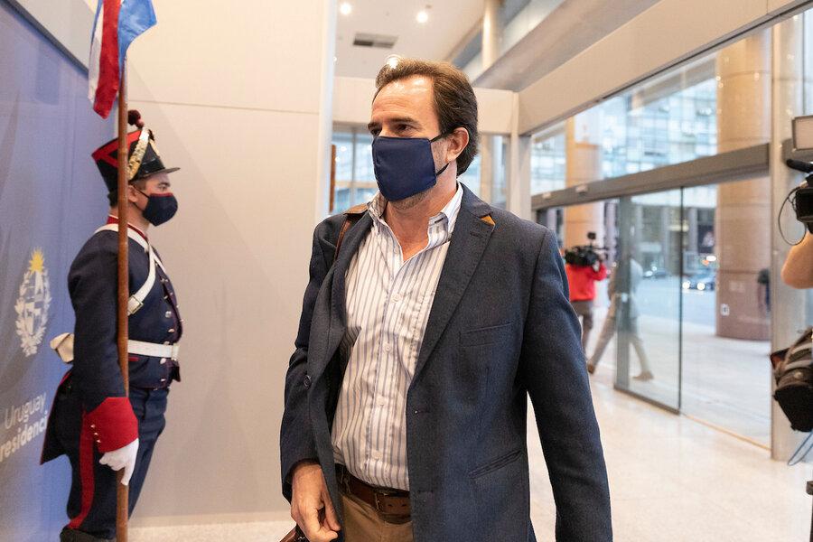"""imagen de Lacalle volverá a recibir a Cardoso y luego dará a conocer la """"decisión del gobierno"""""""