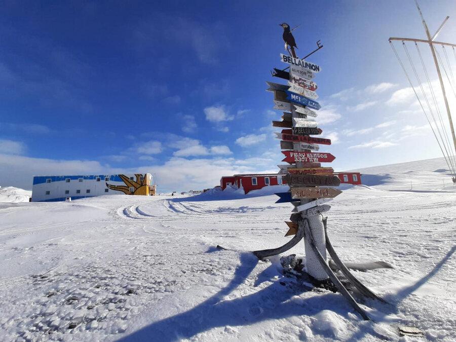 """imagen de Uruguay aspira a avanzar hacia una """"base verde"""" en la Antártida, con el fin de mejorar su """"obsoleto"""" desempeño ambiental"""