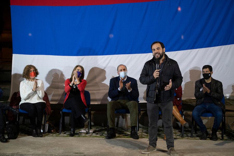 """imagen de Con la mirada puesta en """"los interiores"""" y en el referéndum, Pereira y Civila inician la interna"""