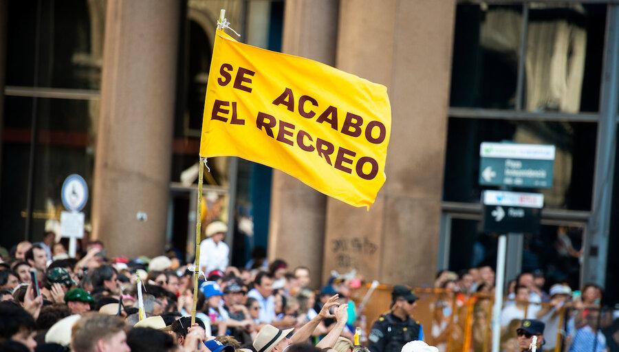 """imagen de Votantes de Cabildo Abierto fueron la """"fuga"""" principal de la coalición multicolor hacia el Frente Amplio en el balotaje"""