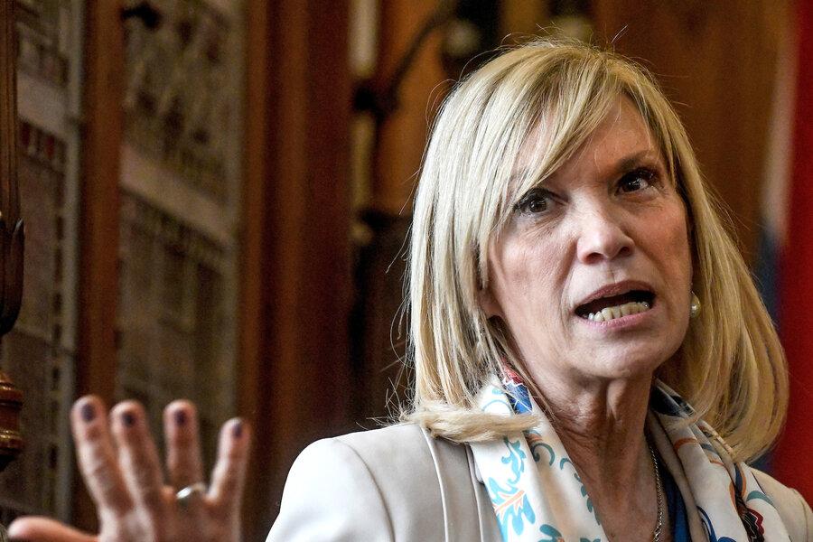 """imagen de La oposición tiene una """"estrategia"""" de """"querer impedir el accionar del gobierno"""", sostiene la vicepresidenta Argimón"""